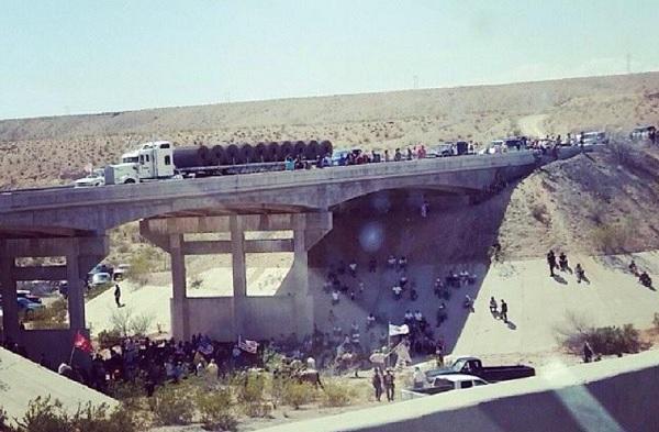 Bundy-standoff-overpass